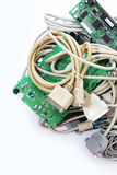 Computer-Stecker Lizenzfreie Stockbilder
