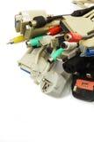 Computer-Stecker Stockbild