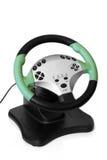 Computer steering wheel Royalty Free Stock Image