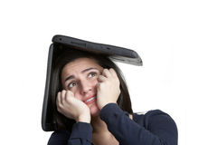 Computer Stress Stock Photography