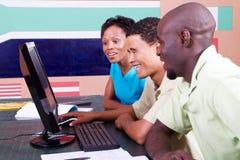 Computer studies Stock Image