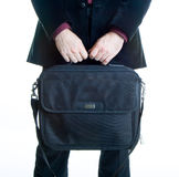 Computer suitcase Royalty Free Stock Photo
