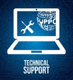 Computer support Stock Images