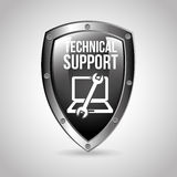 Computer support Royalty Free Stock Photography
