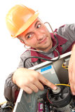 Computer support engineer Stock Image