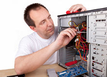 Computer support engineer Royalty Free Stock Photo