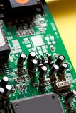 Computer system board Royalty Free Stock Images