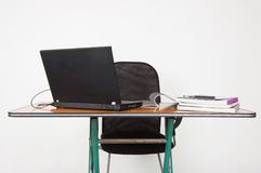 Computer table Royalty Free Stock Image