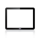 Computer tablet. Illustration of a blank computer tablet Royalty Free Stock Photography