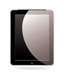 Computer tablet black Royalty Free Stock Photo
