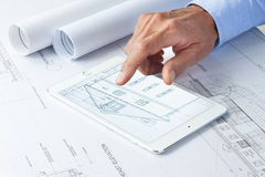 Free Computer Tablet Business Architecture Architect  Stock Images - 64651204