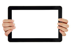 Computer tablet Stock Photo
