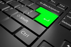 Computer-Tastatur lizenzfreie abbildung