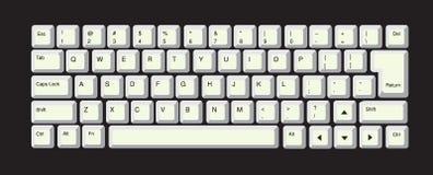 Computer-Tastatur Lizenzfreies Stockfoto