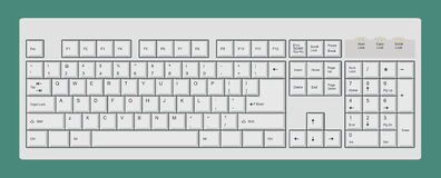Computer-Tastatur Stockbilder