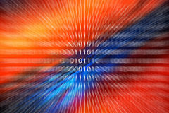 Computer Technology. Abstract wallpaper depicting computer technology Royalty Free Stock Image