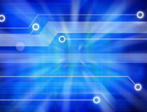 Computer Technology Abstract Background Royalty Free Stock Images