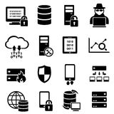 Computer, technology, data icons Royalty Free Stock Photography