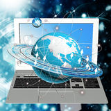 Computer technology Royalty Free Stock Photos