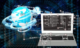 Computer technology Stock Images