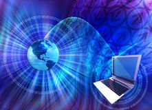Computer Technology Mix Royalty Free Stock Photo