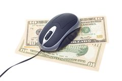 Computer technology mouse Royalty Free Stock Photography