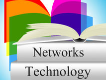 Computer Technology Shows Lan Network And Connection Stock Photo