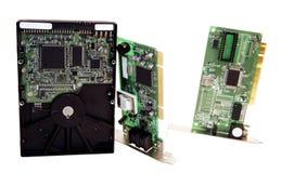 Computer-Teile Stockfoto