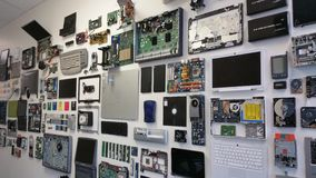 Computer-Teile 3 Lizenzfreies Stockbild