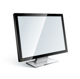 Computer or television screen Stock Image