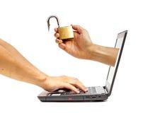 Computer threat Stock Photos
