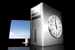 Computer Time Stock Images