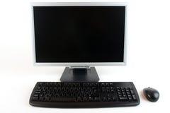 Computer, Toetsenbord en Muis Stock Afbeeldingen