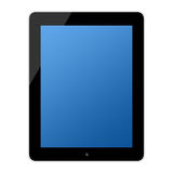 Computer touchscreen tablet pc Stock Image