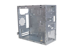 Computer Tower Empty Case Stock Image