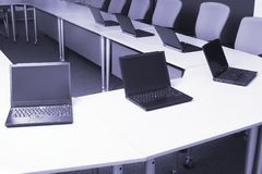 Computer training Stock Image