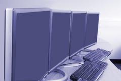 Computer training Stock Photo