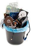 Computer trash stock photography