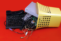 Computer trash Royalty Free Stock Photo
