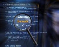 Computer- und Internet-Sicherheit Lizenzfreie Stockfotografie