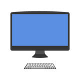 Computer vector illustration. Royalty Free Stock Images