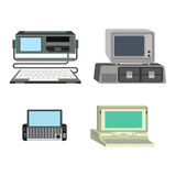 Computer vector illustration. Stock Photography