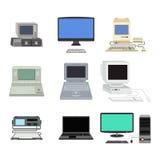 Computer vectorillustratie Stock Foto