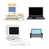 Computer vectorillustratie Stock Foto's