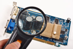 Computer video card Stock Photos