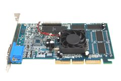 Computer video card Royalty Free Stock Photography