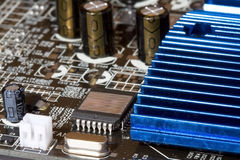Computer video card Royalty Free Stock Photo