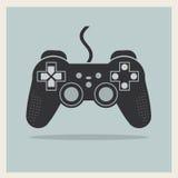 Computer-Videospiel-Kontrolleur Joystick Vector Lizenzfreie Stockfotografie
