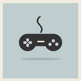 Computer-Videospiel-Kontrolleur Joystick Vector Stockfoto
