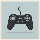 Computer-Videospiel-Steuerknüppel-Vektor Lizenzfreie Stockfotos